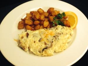 Jolly coachman omelette